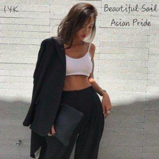 【大特価】ブラック 無地 シンプル オーバーサイズ テーラードジャケット ブレザー ロング丈 インポート 通販