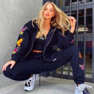 【大特価】ホワイト 蝶々 バタフライ ジッパー ジップアップ ファスナー パーカー スウェット フーディー ジャケット インポート 通販