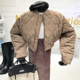 【大特価】3色展開 オニオンキルトジャケット キルティングジャケット ボンバージャケット ブルゾン MA-1 アウター インポート 通販