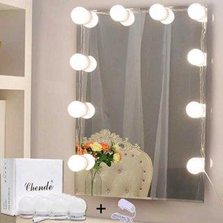 【大特価】10個セット DIY 女優ライト 女優鏡 ハリウッドミラーライト 電球のみ LEDライト 女優ミラー インポート 通販