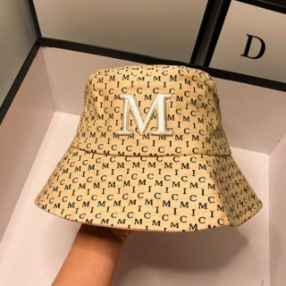【大特価】3色展開 総柄 Mロゴ ロゴデザイン バケハ バケットハット ハット 帽子 韓国 インポート 通販
