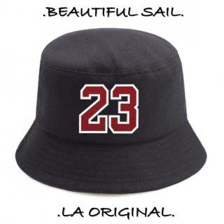 【大特価】2色展開 23 ナンバリング フロントロゴ バケットハット バケハ 帽子 インポート 通販