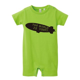 THE WORLD IS YOURS ROMPERS (5.6oz.)