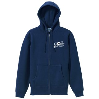 SF WORD ZIP HOODY (Navy/10.0oz.)