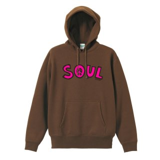 SF_DE LA HOODY (Brown/10oz.)