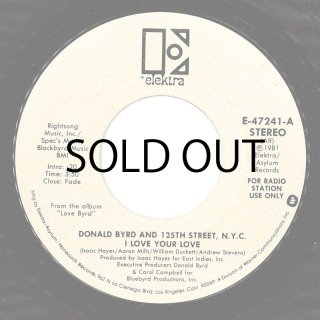 Donald Byrd & 125th Street, N.Y.C. - I Love Your Love