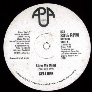 Celi Bee - Blow My Mind / It's Love