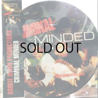 BOOGIE DOWN PRODUCTIONS / CRIMINAL MINDED (Picture Disc)