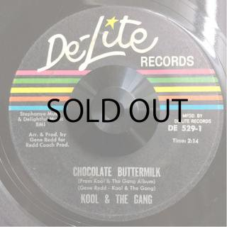KOOL & THE GANG / LET THE MUSIC TAKE YOUR MIND (c/w) CHOCOLATE BUTTERMILK