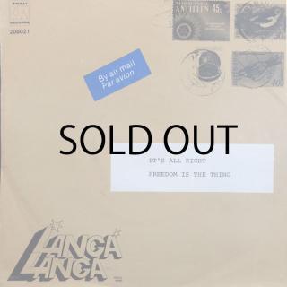 LANGA LANGA / IT'S ALL RIGHT