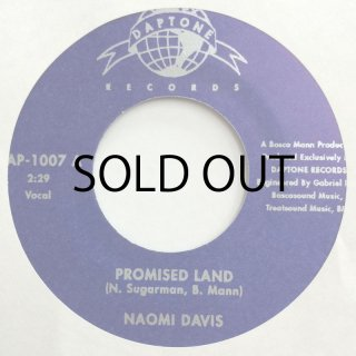 NAOMI DAVIS / PROMISE LAND