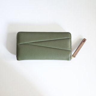 <img class='new_mark_img1' src='//img.shop-pro.jp/img/new/icons13.gif' style='border:none;display:inline;margin:0px;padding:0px;width:auto;' />Ense zipper wallet-unisex/green