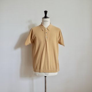 <img class='new_mark_img1' src='//img.shop-pro.jp/img/new/icons13.gif' style='border:none;display:inline;margin:0px;padding:0px;width:auto;' />BATONER SUMMER PIQUE POLO-unisex/YELLOW