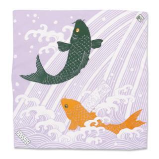 COOLBIT クールハンカチ 鯉滝登