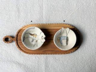 室井夏実 豆皿