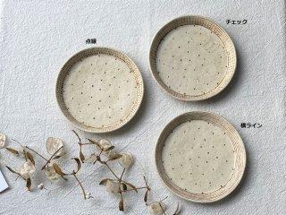金成潤子 丸皿