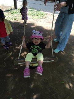 1歳11ヵ月・・・自然いっぱいの公園に行って来ました♪