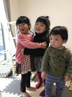 2歳♪ お友達と遊びました(^O^)年下男子は苦手・・・