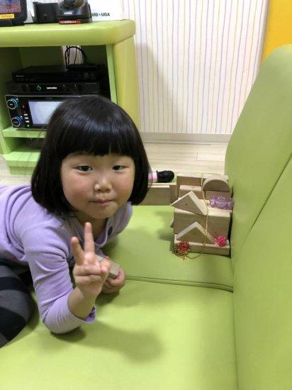 3歳♪保育園で進級式がありました(*^_^*)