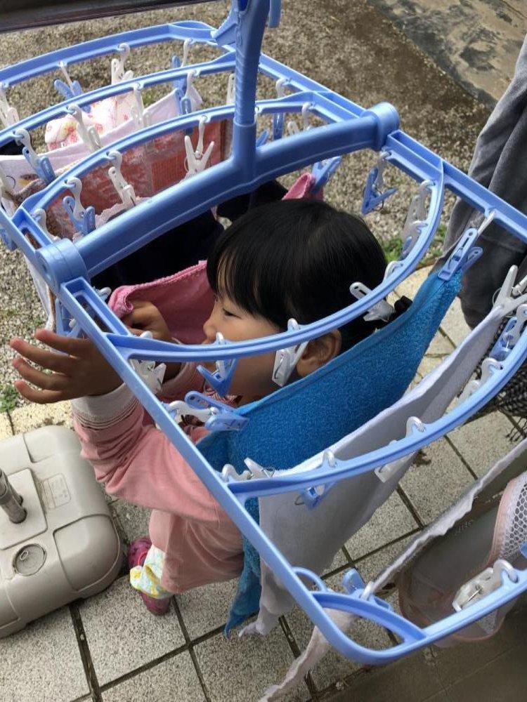 4歳♪お手伝いをしてくれるひなぴい( *´艸`)