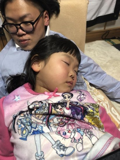 4歳♪体調を崩して夜間救急・・・嘔吐下痢症と診断・・・