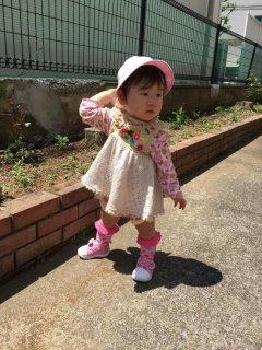 1歳・・・外遊びするもまさかの擦り傷(ーー;)外で遊ぶ時の服装♪