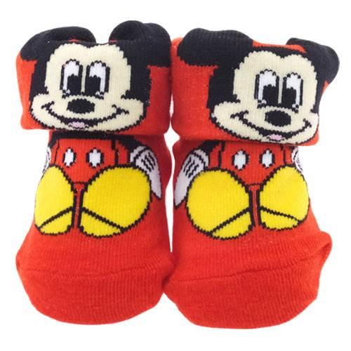 ベビー用靴下 ミッキーマウス 0〜1歳 約7〜10cm 【ギフトBOX付】