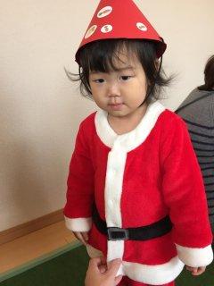 1歳7ヵ月・・・クリスマス会に参加してきました♪