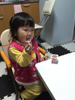 1歳7ヶ月・・・高熱の原因は中耳炎(>_<)