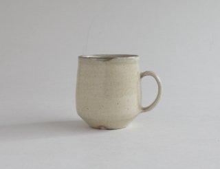 粉引マグカップ 丸 小(灰釉)