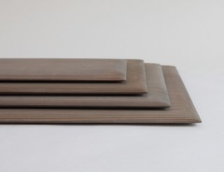 敷板 杉 鉄媒染