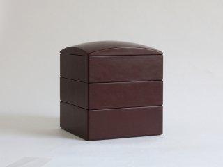 三段重箱 赤