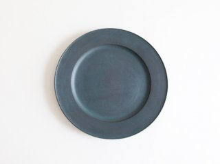 青漆リム皿