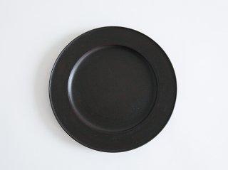 黒漆リム皿