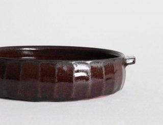 グラタン皿 黒
