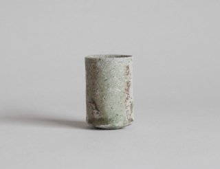 自然釉筒ぐい呑6