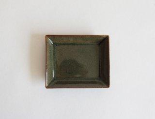 HIKARI 長角皿 ビードロ釉