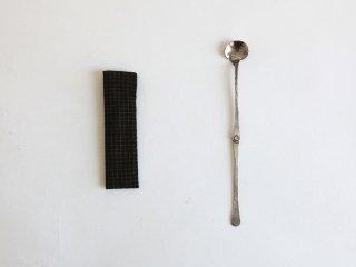 南鐐折茶杓