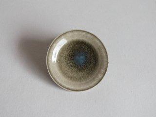 灰釉皿3寸