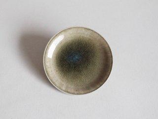 灰釉皿4寸