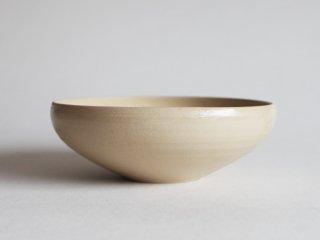 黄釉化粧丸鉢