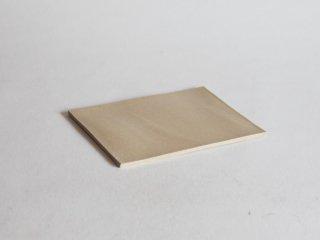 黄釉化粧板皿 14×21