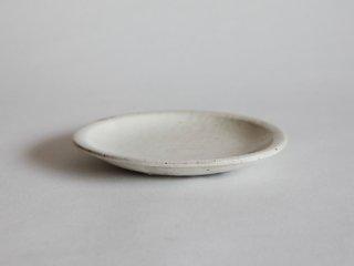 粉引平皿 六寸