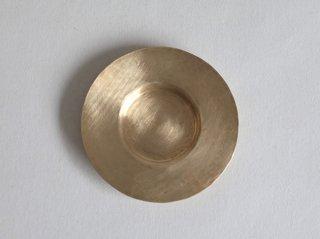 茶托  丸/真鍮