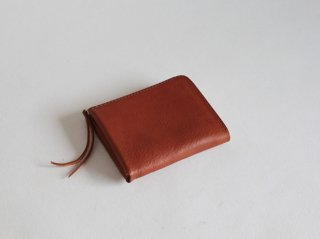 L型ファスナー財布 (S) BR