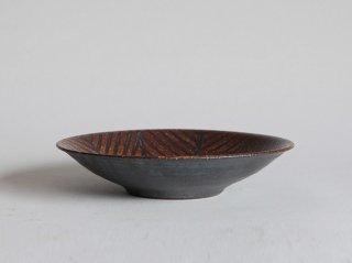 鉄絵平鉢 七寸