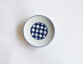 豆皿 市松