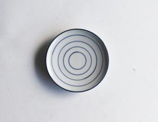 豆皿 細五線