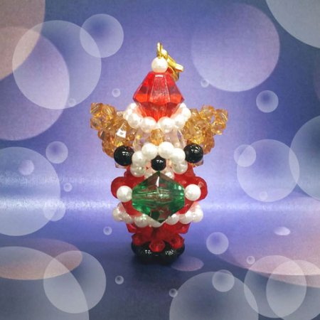 【ホビックス】【ビーズキット】【¥5400以上で送料無料】【ホビックスにしかないクリスマスビーズキット】 くまサンタからプレゼ…