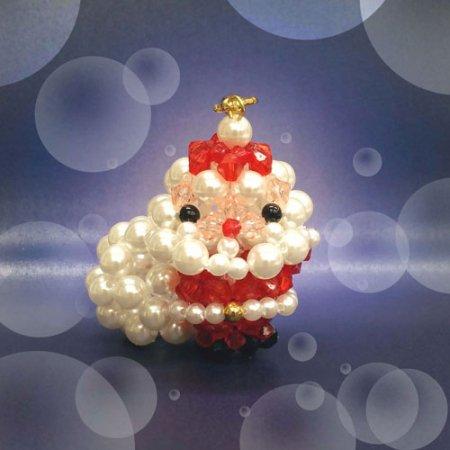 【ホビックス】【ビーズキット】【¥5400以上で送料無料】【ホビックスにしかないクリスマスビーズキット】メリークリスマスサ…